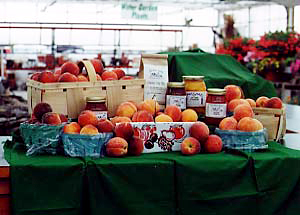 You'll love our beautiful fresh and juicy peaches at Gro-Moore  Farms in Henrietta, New York